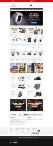apexcctv company website snapshot