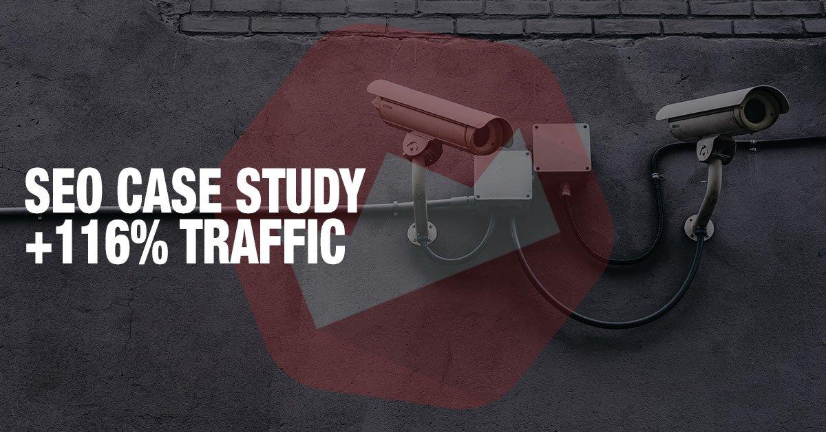 surveillance company seo case study