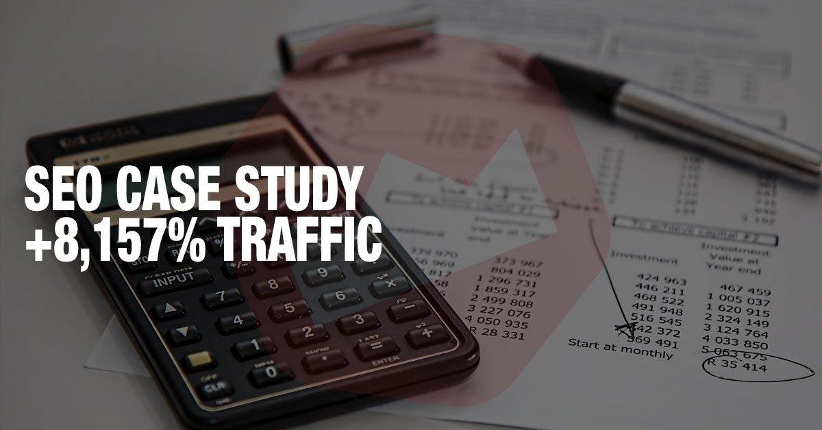 private loan company seo case study